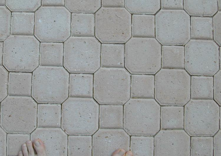 Patio Tiles From Pensacola Beach, Florida