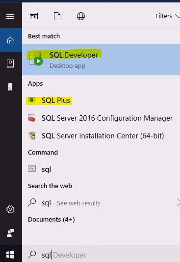 SQL Server & ORACLE information