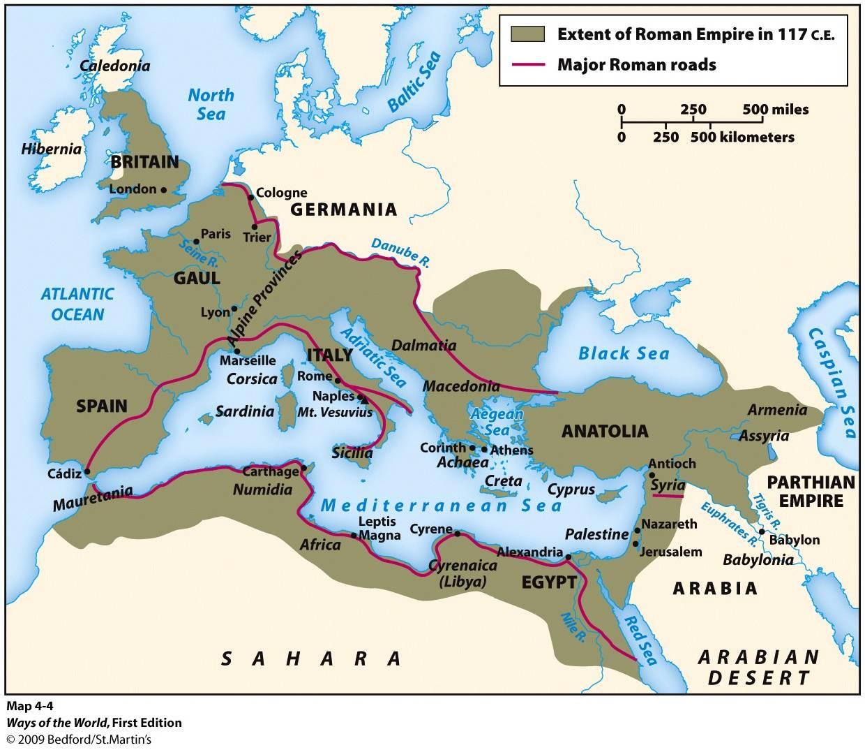 how did the roman empire propagated